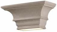 Justice Design CER-9825 Ambiance Rectangular Concave Ceramic LED Wall Lighting Sconce