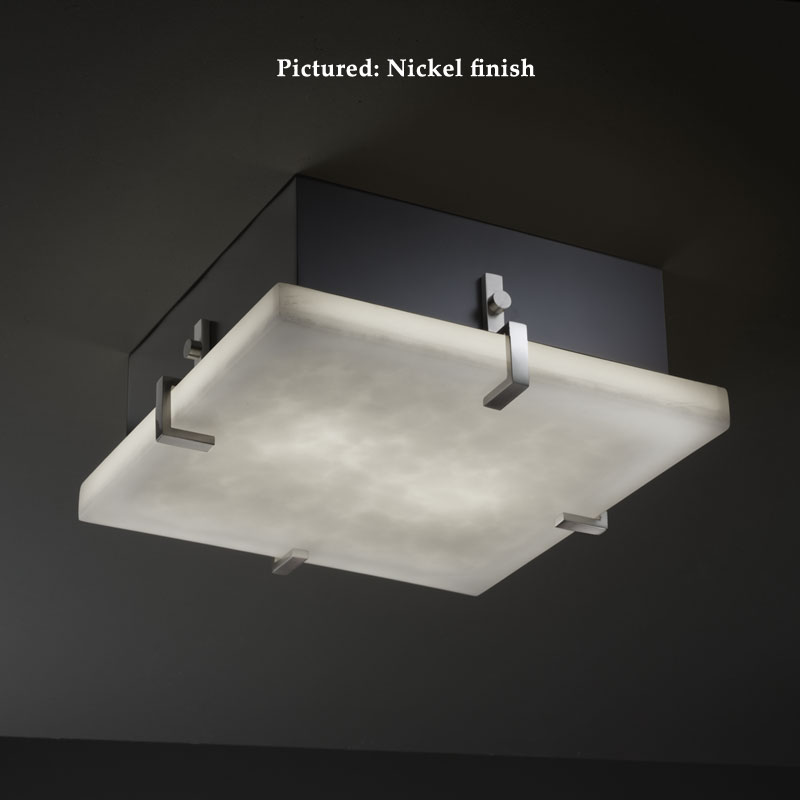 Justice design cld 5555 clips modern small 12 inch wide square flush justice design cld 5555 clips modern small 12 inch wide square flush mount ceiling light loading zoom aloadofball Gallery