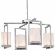 Justice Design CLD-7510W Clouds Laguna Modern LED Outdoor Chandelier Lamp