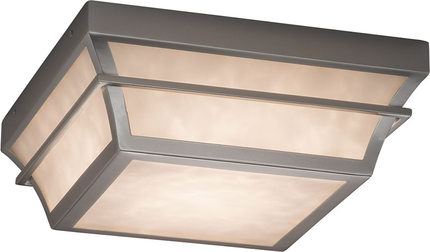 Justice Design Cld 7525w Clouds Summit Modern Led Outdoor Ceiling Light Fixture Loading Zoom