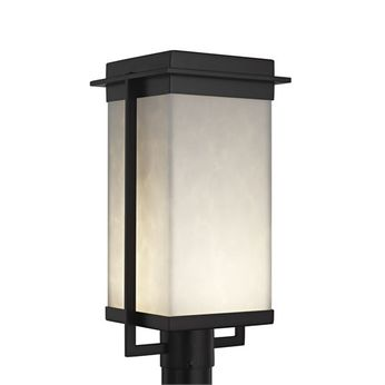 Justice Design CLD-7543W Clouds Pacific Contemporary LED Outdoor Post Lighting
