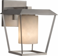 Justice Design CLD-7551W-10 Clouds Patina Modern Outdoor Small Wall Sconce