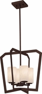 Justice Design CLD-8014-10 Clouds Aria Contemporary Entryway Light Fixture