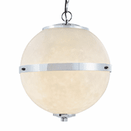 Justice Design CLD-8041 Clouds Imperial Modern Hanging Lamp