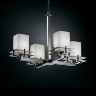 Justice Design CLD-8100 Clouds� 19.25  Tall Lighting Chandelier