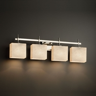 Justice Design CLD-8414 Union Clouds 4-Light Bathroom Sconce