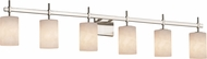 Justice Design CLD-8416 Clouds Union Contemporary Bathroom Light Fixture