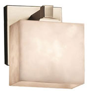Justice Design CLD-8437-55 Clouds Regency Contemporary Wall Sconce