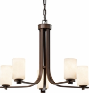Justice Design CLD-8440 Clouds Era Modern Chandelier Light