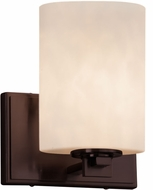 Justice Design CLD-8441 Clouds Era Contemporary Wall Sconce Lighting