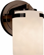 Justice Design CLD-8451-10 Clouds Atlas Modern Lighting Wall Sconce