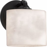Justice Design CLD-8467 Clouds Bronx Contemporary Wall Lighting Fixture