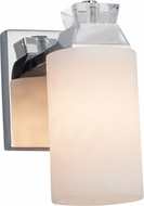Justice Design CLD-8471 Clouds Ardent Modern Wall Light Sconce