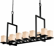 Justice Design CLD-8619-15 Clouds Montana Contemporary Square Kitchen Island Lighting