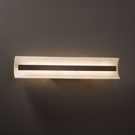 Justice Design CLD-8625 Contour Clouds LED 29  Bath Wall Sconce