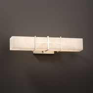Justice Design CLD-8640 Structure Clouds 21.5  Bathroom Sconce Lighting