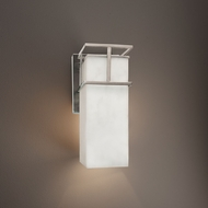 Justice Design CLD-8641W Structure Clouds Outdoor Wall Sconce