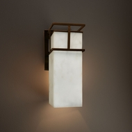 Justice Design CLD-8643W Structure Clouds Exterior Wall Lamp