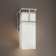 Justice Design CLD-8644W Structure Clouds Outdoor Wall Lighting