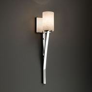 Justice Design CLD-8791 Sabre Clouds Lighting Sconce