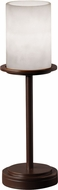 Justice Design CLD-8799-10 Clouds Dakota Modern Cylinder Table Top Lamp