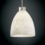 Justice Design CLD-8814 Clouds� 11  Tall Mini Hanging Pendant Light