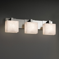 Justice Design CLD-8923 Modular Clouds 3-Light Bathroom Wall Light Fixture