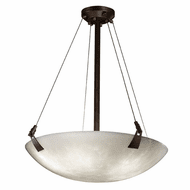 Justice Design CLD-9641-35 Clouds Tapered Clips Contemporary Pendant Hanging Light