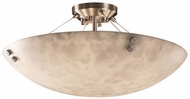 Justice Design CLD-9652-35 Clouds Finials Contemporary 27 Overhead Lighting