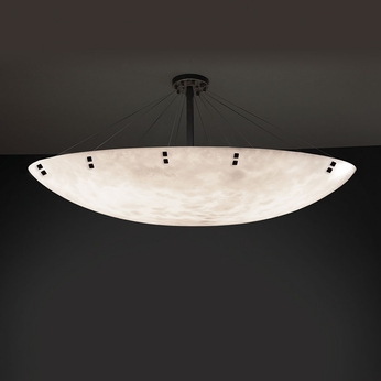 Justice Design CLD-9658 Finials Clouds Ceiling Lighting