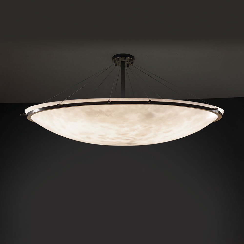 Justice Design Cld 9688 Ring Clouds Ceiling Light Loading Zoom