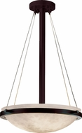 Justice Design CLD-9691-35 Clouds Ring Contemporary Round Bowl 21 Hanging Pendant Lighting