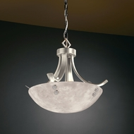 Justice Design CLD-9750 Clouds� 19 Wide Pendant Hanging Light