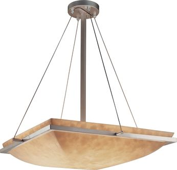 Justice Design CLD-9792-25 Clouds Ring Contemporary Square Drop Lighting