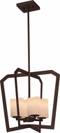 Justice Design CNDL-8014 CandleAria Aria Contemporary Foyer Lighting