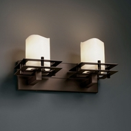 Justice Design CNDL-8172 CandleAria� Faux Candle 8.25 Tall Bath Lighting