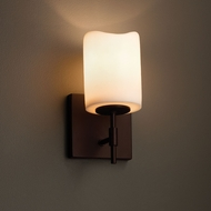 Justice Design CNDL-8411 Union CandleAria Wall Sconce Lighting