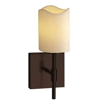 Justice Design CNDL-8415 CandleAria Union Modern Wall Mounted Lamp
