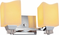 Justice Design CNDL-8472 CandleAria Ardent Modern 2-Light Bathroom Wall Sconce