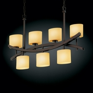 Justice Design CNDL-8598 CandleAria� Faux Candle 25 Tall Island Lighting