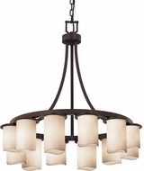 Justice Design CNDL-8739 CandleAria Dakota Modern Chandelier Light