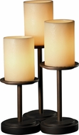 Justice Design CNDL-8797 CandleAria Dakota Modern Side Table Lamp