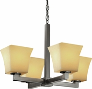 Justice Design CNDL-8829 CandleAria Modular Contemporary Mini Chandelier Lighting