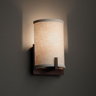 Justice Design FAB-5531 Century Textile Wall Lighting Sconce