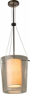 Justice Design FAB-8010 Textile Amani Contemporary Pendant Hanging Light