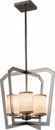 Justice Design FAB-8014-10 Textile Aria Modern Foyer Lighting Fixture