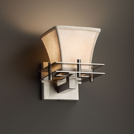 Justice Design FAB-8171 Metropolis Textile Wall Sconce Lighting