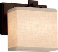Justice Design FAB-8447 Textile Era Modern Wall Light Sconce