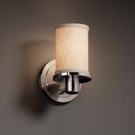 Justice Design FAB-8511 Rondo Textile Sconce Lighting
