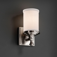 Justice Design FAB-8531 Deco Textile Light Sconce